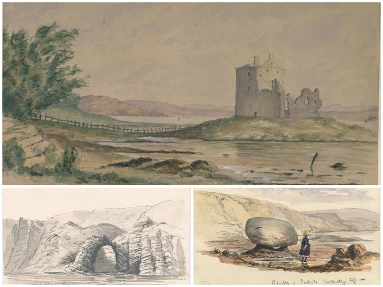 Sir Archibald Geikie's Art Collection Database
